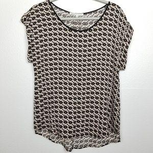 Daniel Rainn | geometric print | blouse